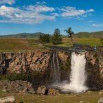 Orkhon Wasserfall Mongolei