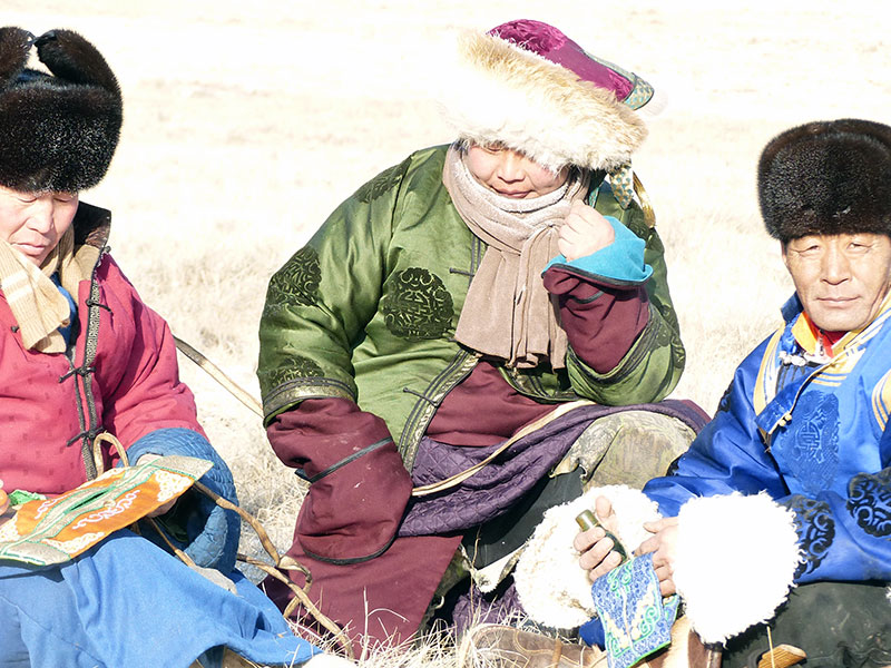 Mongolei Nomaden