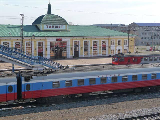Tajshet Sibirien Go East