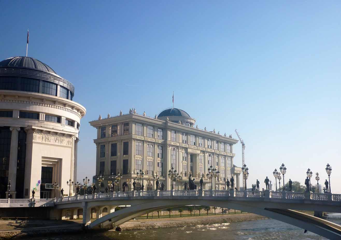 Mazedonien, Skopje