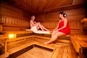 Sauna bei Finnlines