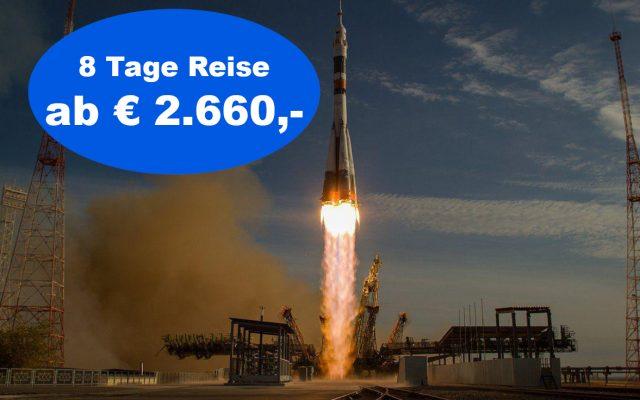 Baikonur Raketenstart