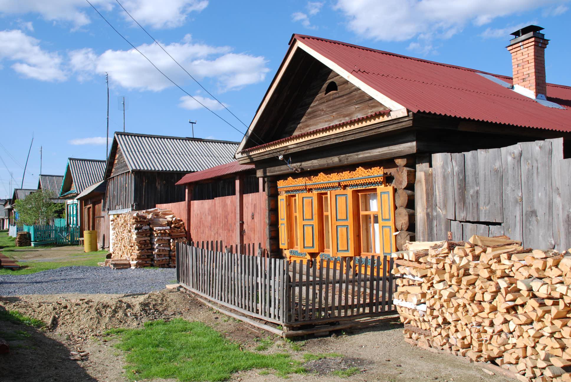 Bingi - unser Haus im Ural bei Jekateriburg