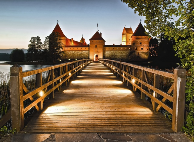 Ausflug Burg Trakai