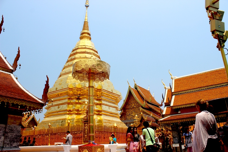 Chiang_Mai_Doi_Suthep_Tempel2_thailandreisen_nordthailand