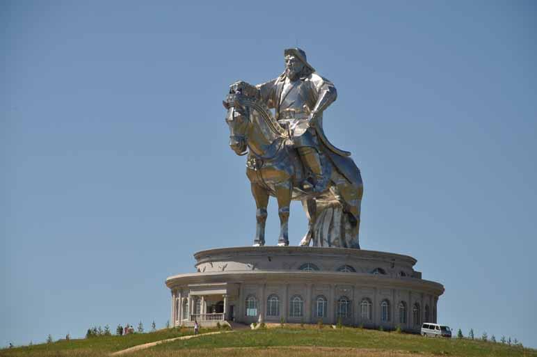 Dschingis Khan Statue Mogolei