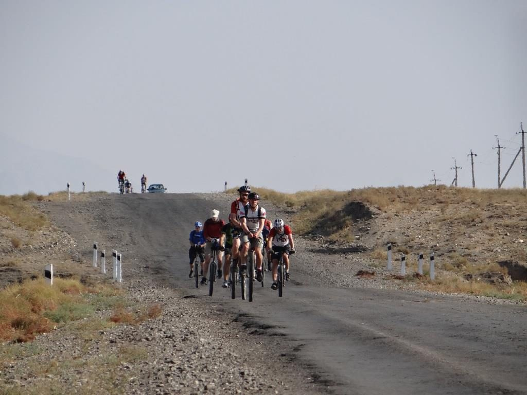 Fahrrad Seidenstraße Usbekistan