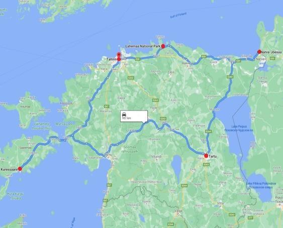 Karte_Estland_abseits_ausgetretener Pfade