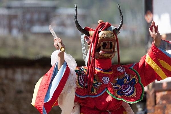 Bhutan Go East Reisen