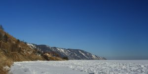 Baikalsee im Winter
