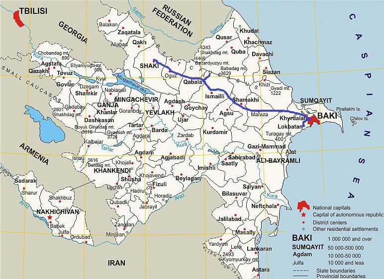 Rundreise Bezauberndes Aserbaidschan Go East Reisen