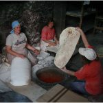 Lavash backen Armenien