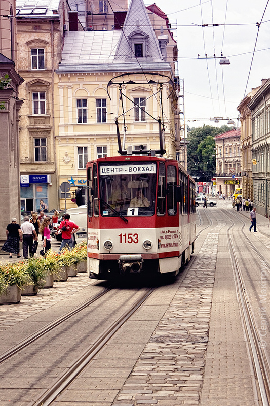 Lviv Strassenbahn