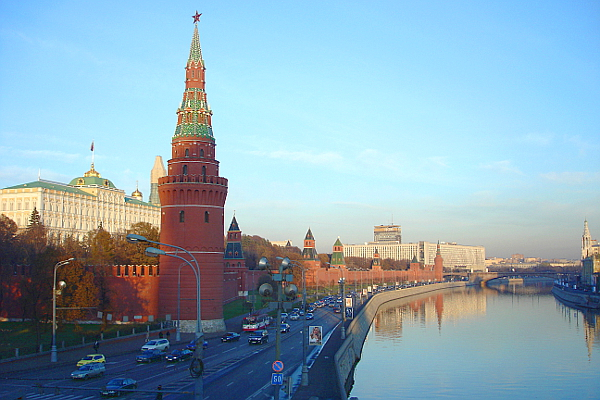 Moskau. Kreml, Aufnahme während einer Russland-Reise im Herbst 2005