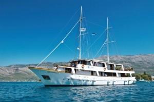 Kroatien reise Motoryacht