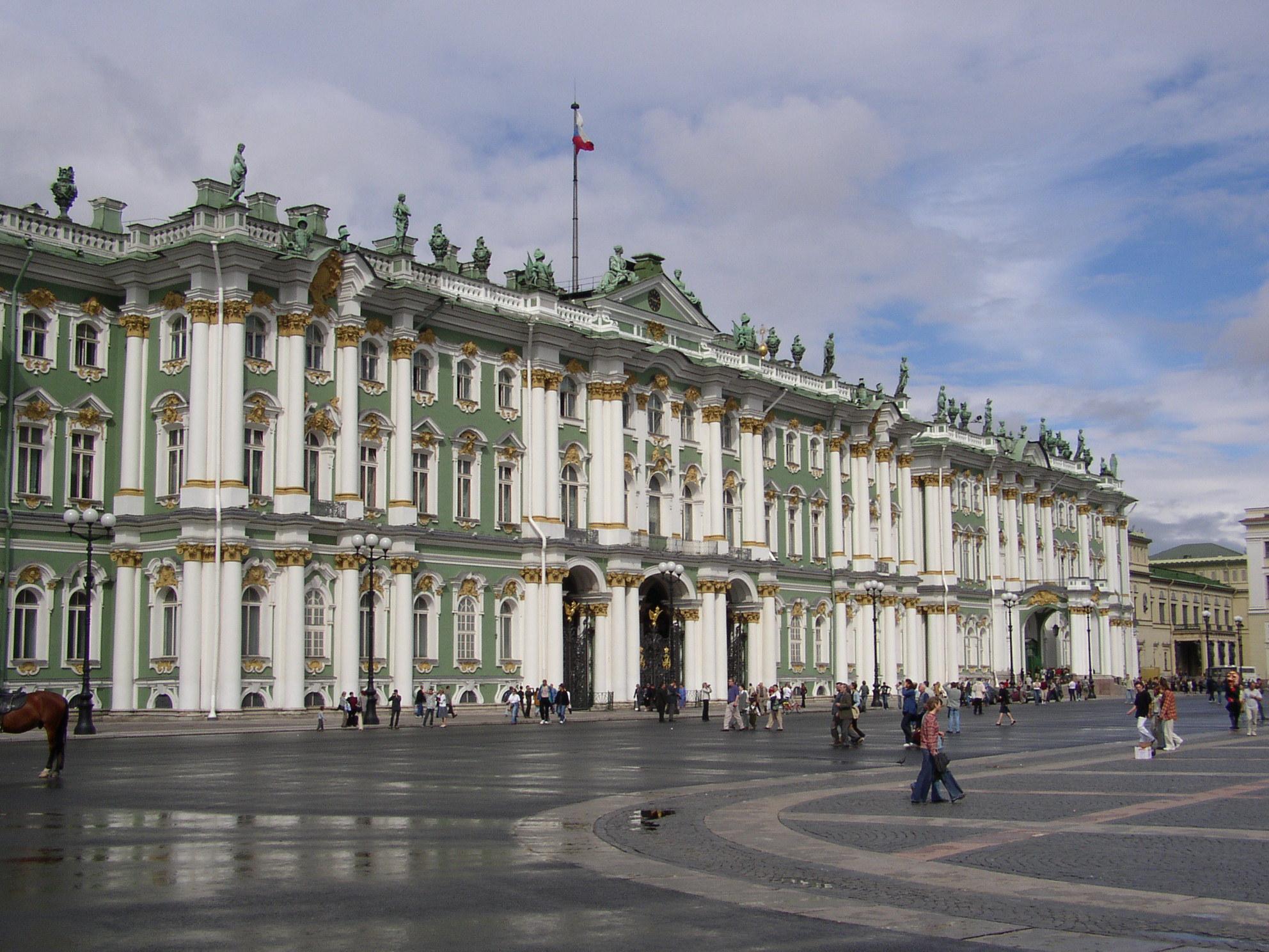 Petersburg: Schlossplatz und Eremitage