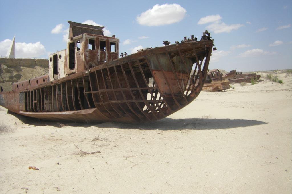 Aralsee Schiffsfriedhof