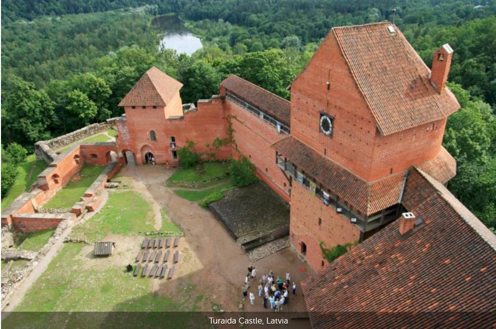 Schloss Turaida, Lettland