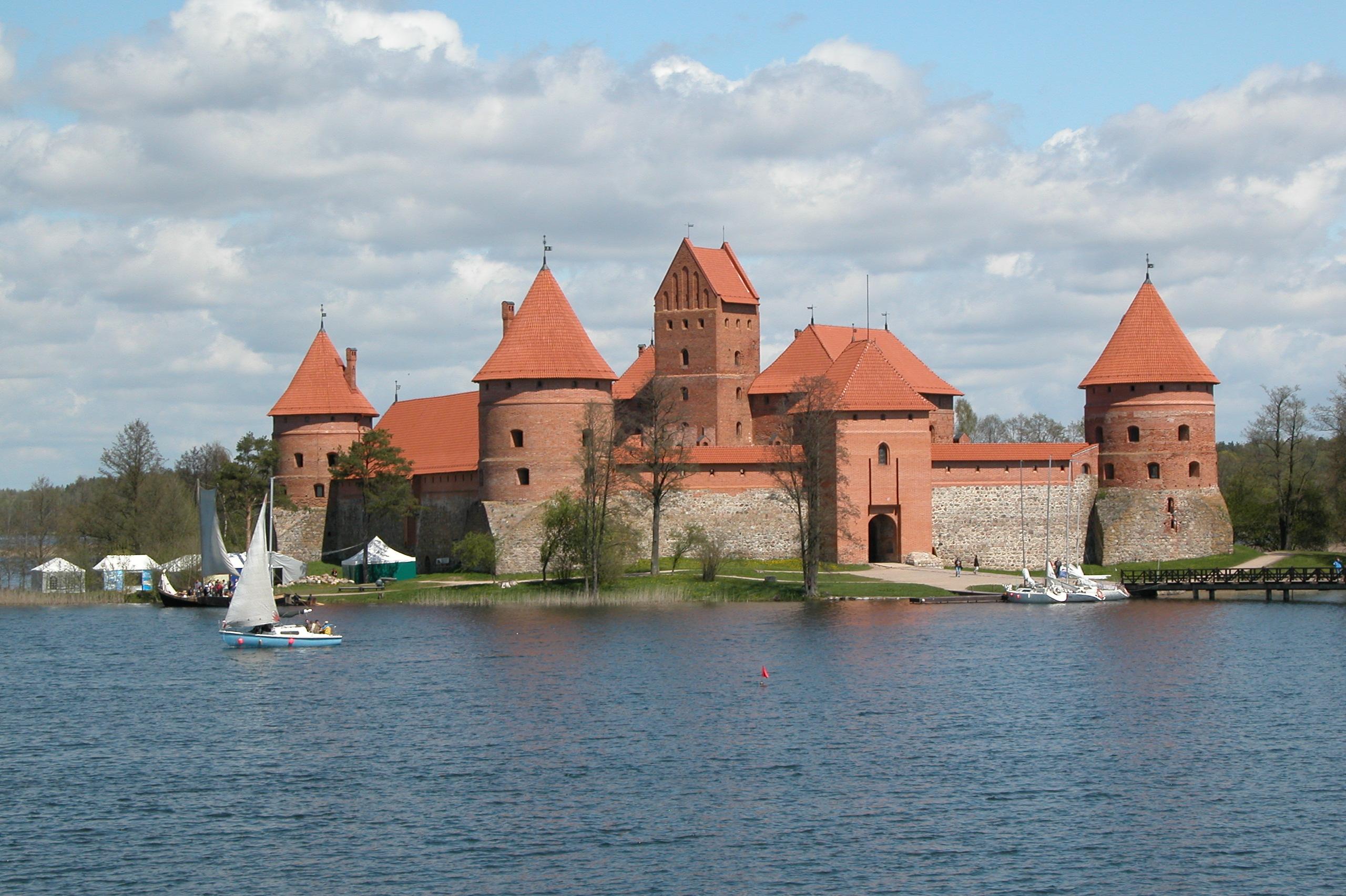Wasserburg Trakai Litauen