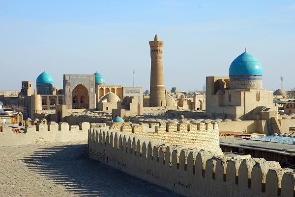 Reiseziel Usbekistan, Kalon Minaret, Städtereise