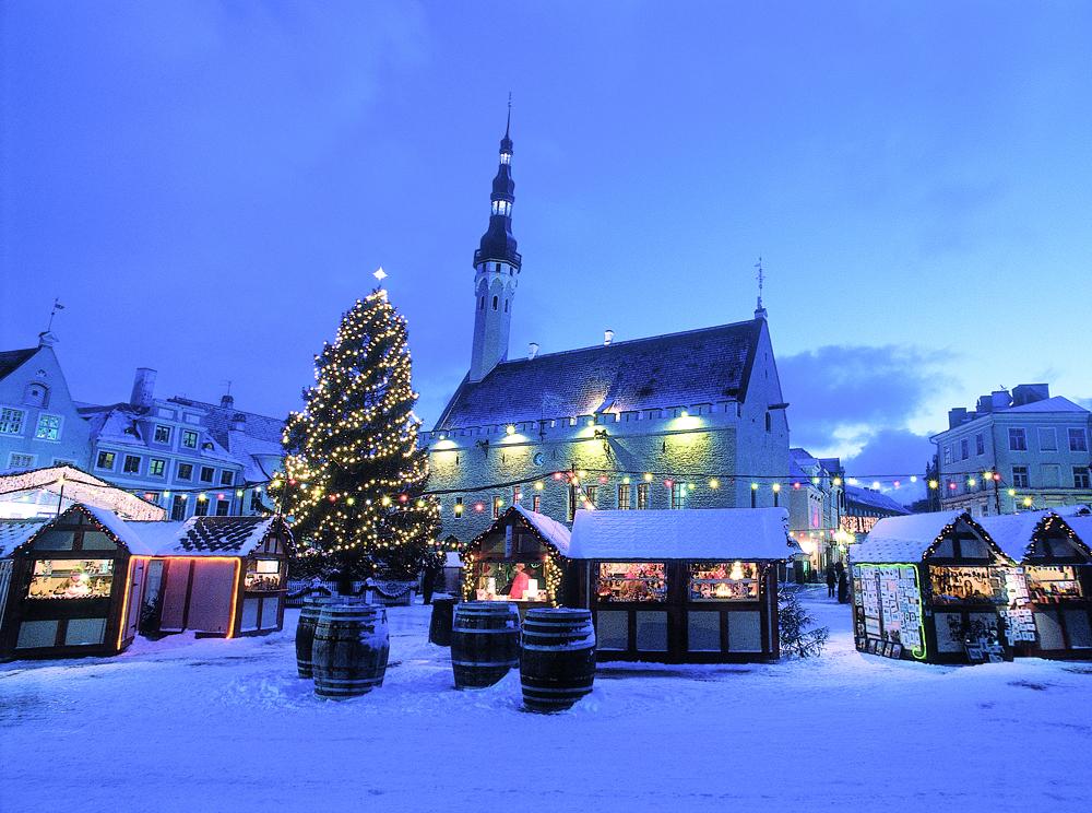 Winter, Tallinn, Estland
