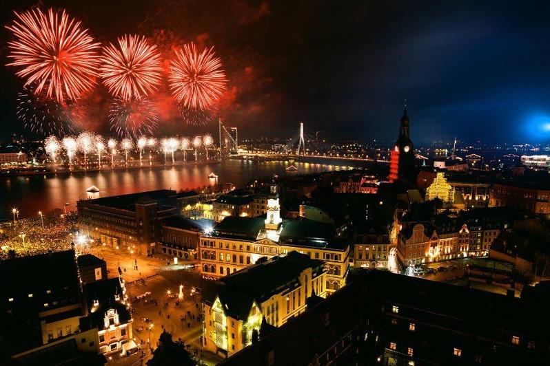 Weihnachten und Silvester-Reisen nach Riga