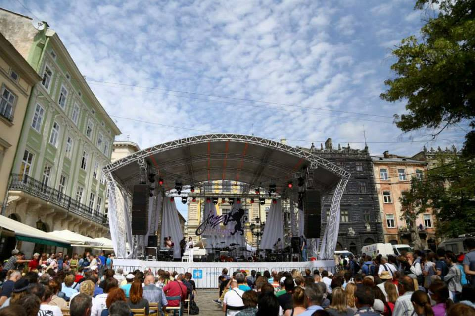 Alfa-Jazz Festival in Lwiw Ukraine (Lviv, Lemberg)