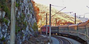 Bahnreise Transsibirische Eisenbahn russischer Streckenabschnitt