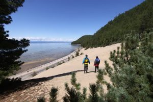 Baikalsee Ufer Strand
