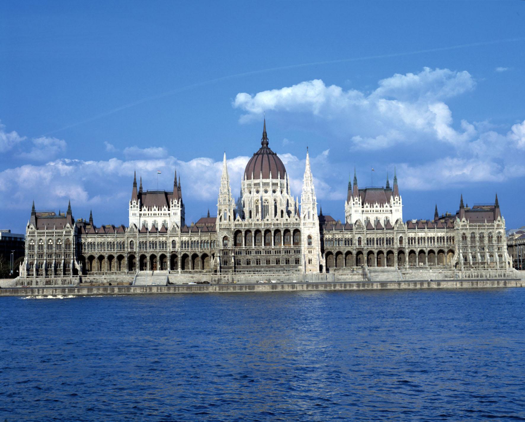 Budapest, Parlament, Ungarn