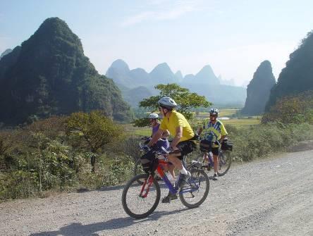 Fahrradtour China