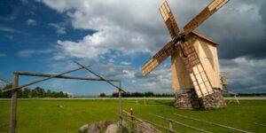 Saaremaa Windmühle