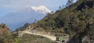 GEbirgsstrasse Nepal Tibet REise