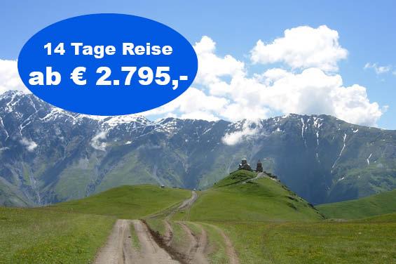Startbild Kaukasus Rundreise