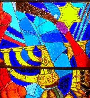 Mosaik in der Kiewer Sinagoge