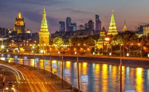 Moskau bei Nacht (Foto: Liden & Denz)