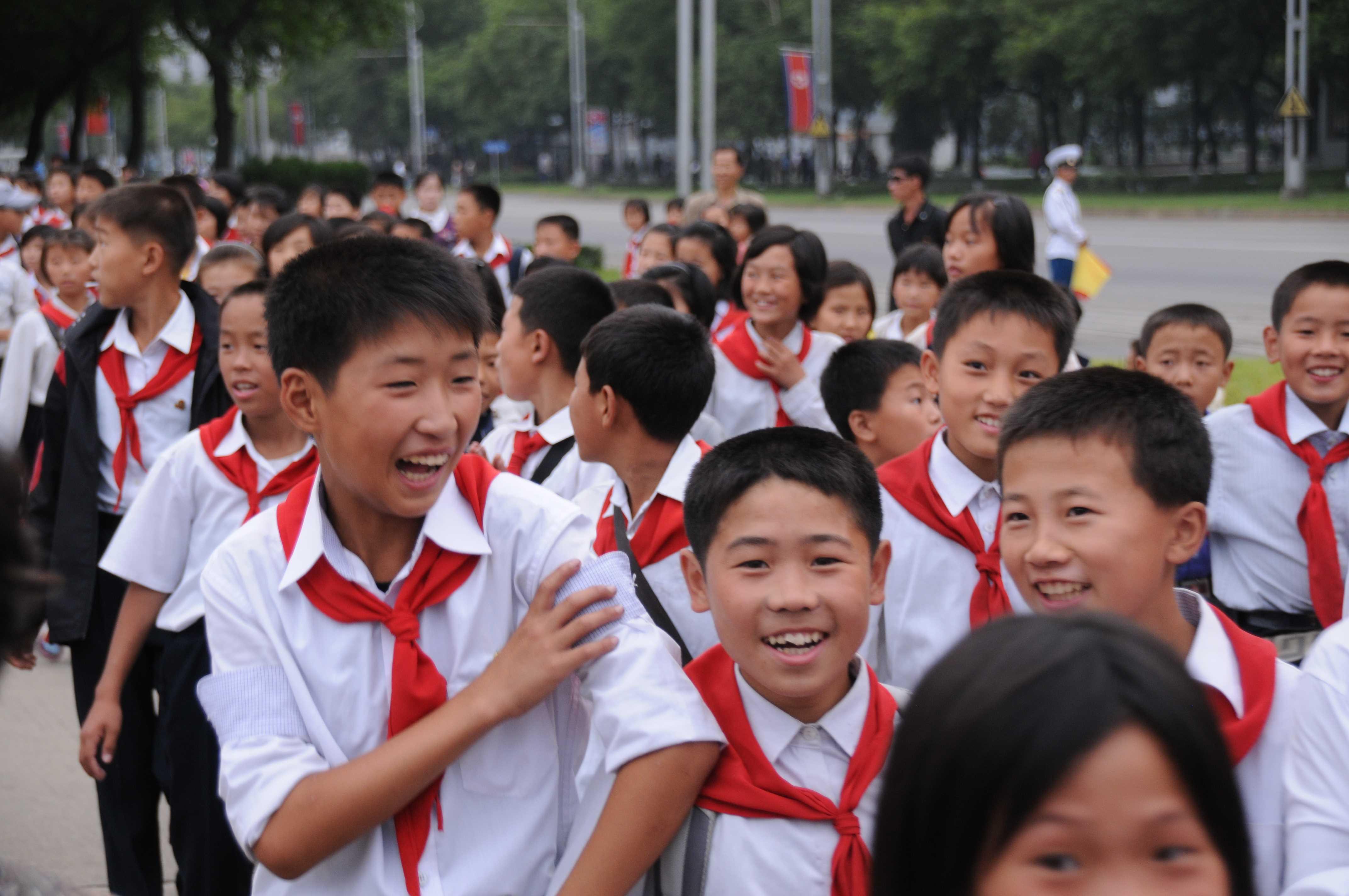 Nordkorea, Kinder