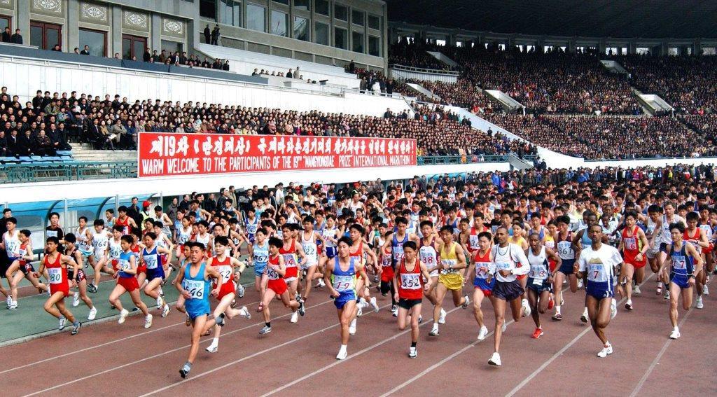 Marathon Nordkorea