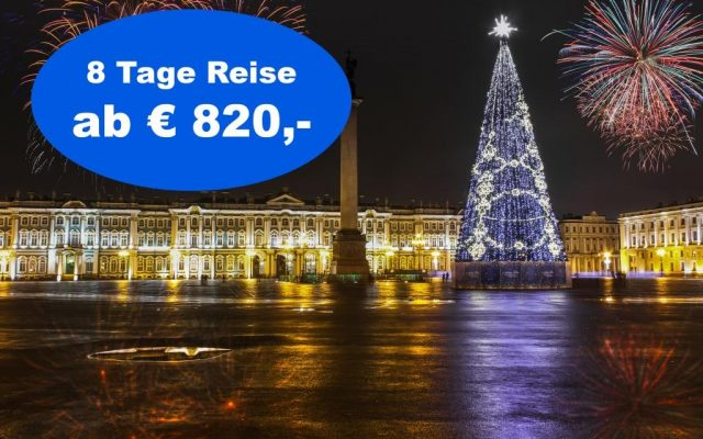 Silvesterreise Moskau St. Petersburg