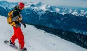Skifahren in Sotschi am Schwarzen Meer