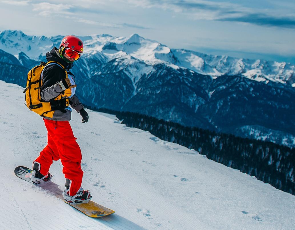 Sotschi, Skifahren im Kaukasus