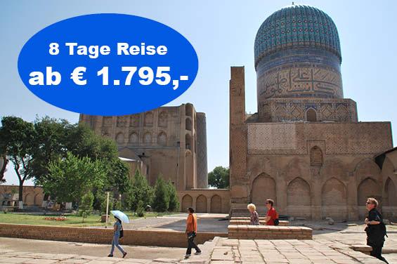 Startbild Usbekistan Rundreise