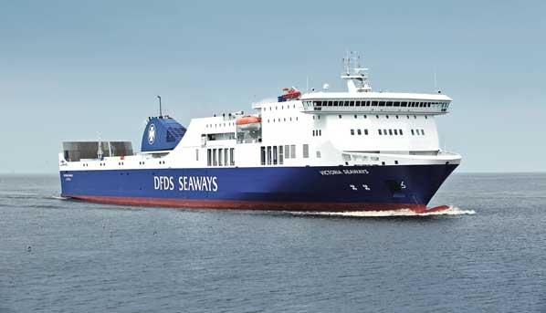 DFDS Ms Victoria Seaways