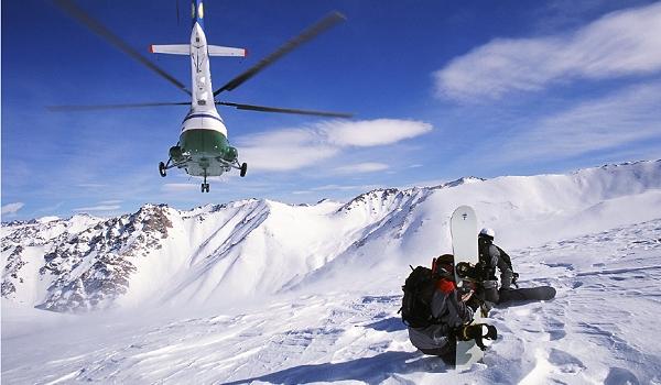 Winterreise, Ski-Urlaub, Heli-Ski in Usbekistan