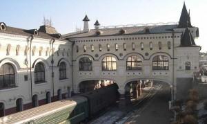 Wladiwostok, Bahnhof