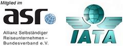 Go East Reisen ist Mitglied im ASR, Verband Selbständiger Reiseunternehmer und IATA-Agentur