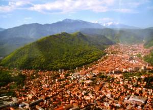 Brasov in Rumaenien