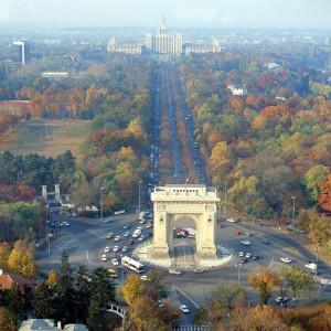 Bukarest, Triumphbogen