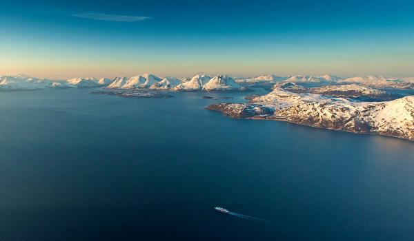 """Hurtigruten (Norwegen). Eine """"Postschiffsreise""""."""