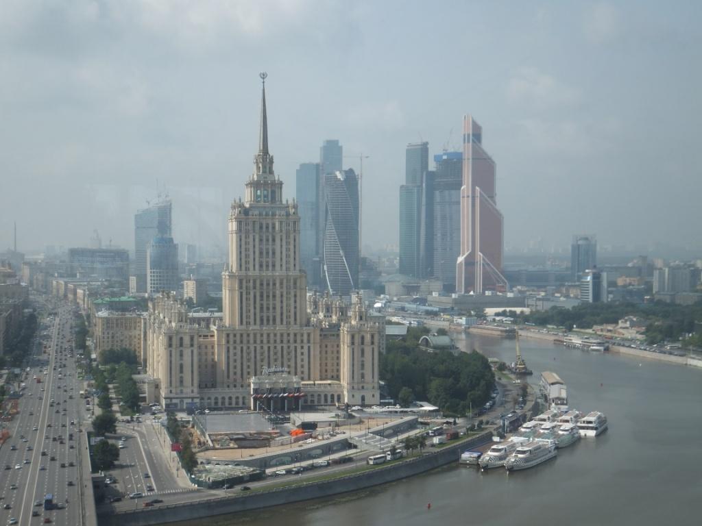 Moskau Skyline Go East Reisen